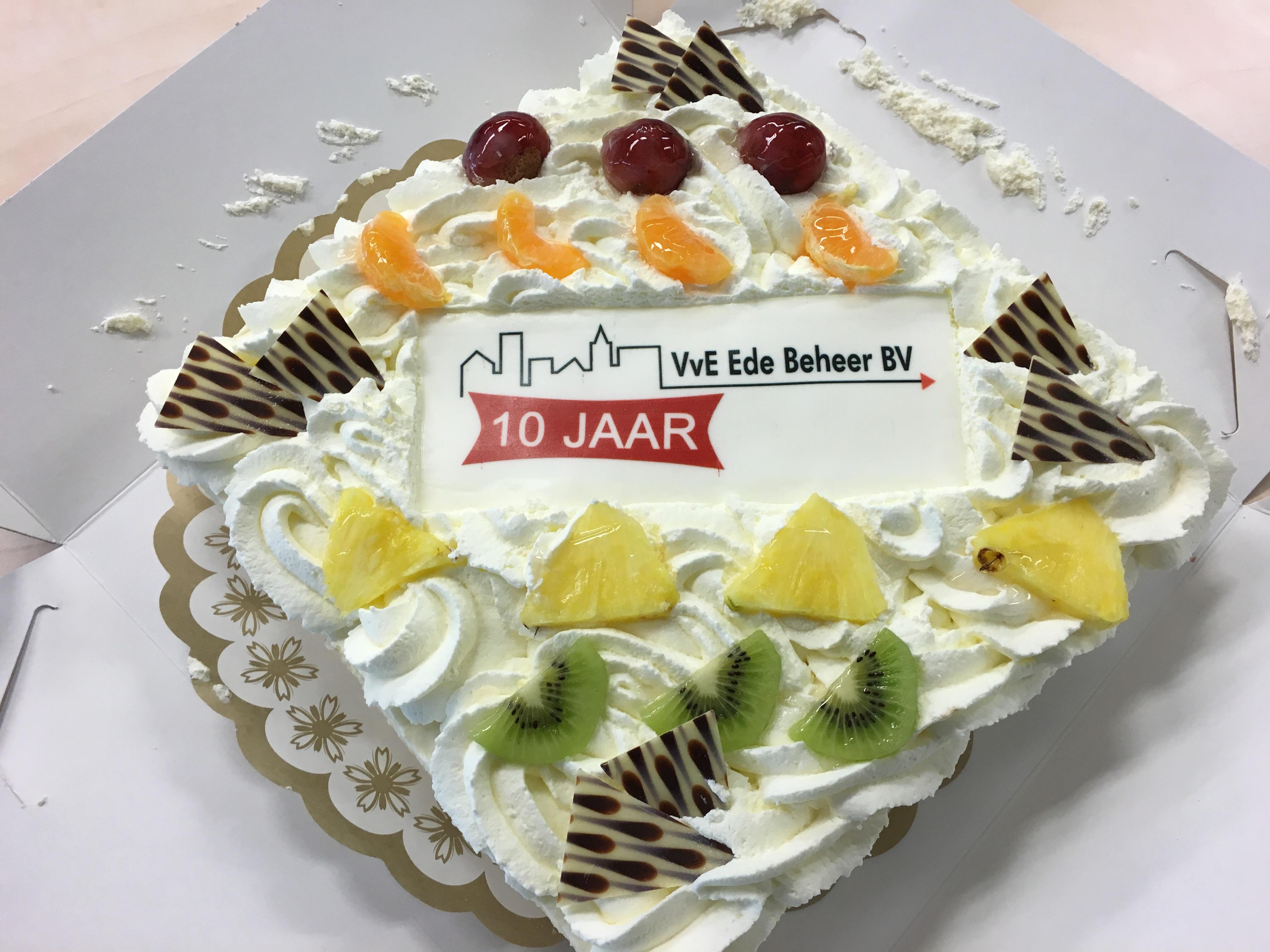 10-jarig jubileum